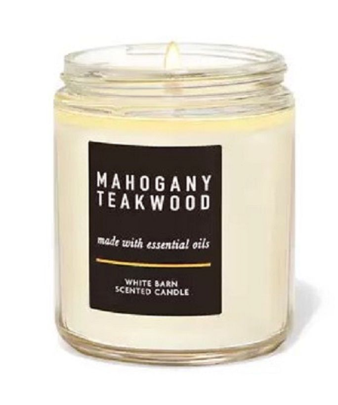Bath and Body Works Mahogany Teakwood Candle