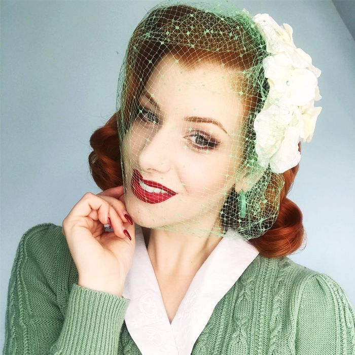Miss Victory Violet beauty interview: vintage hairstylist Miss Victory Violet