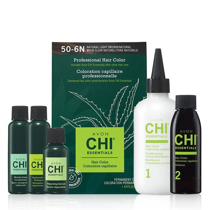 Avon CHI Essentials Hair Color in Medium Honey Blonde