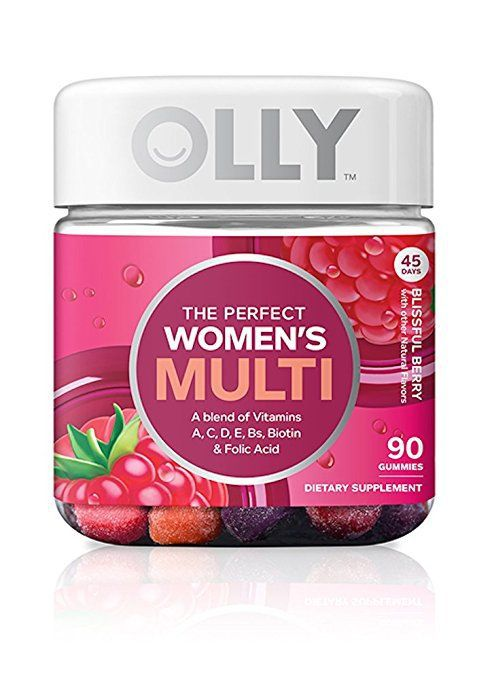 Olly The Perfect Women's Multivitamin Gummies