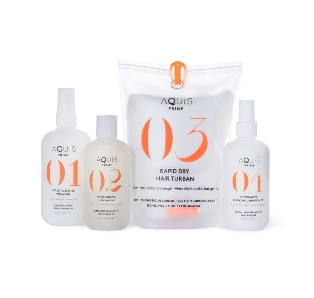 Aquis Prime System for hair