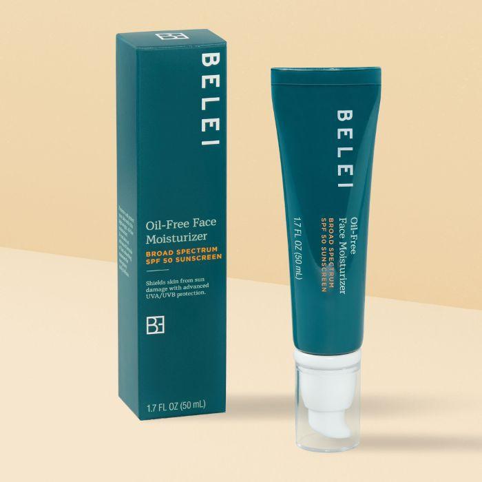 Belei Oil-Free Face Moisturizer UVA/UVB SPF 50