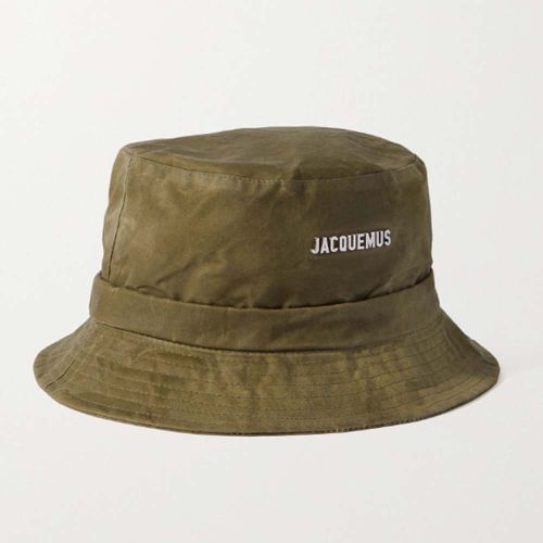 Le Bob Gadjo Logo-Appliquéd Cotton-Canvas Bucket Hat ($115)
