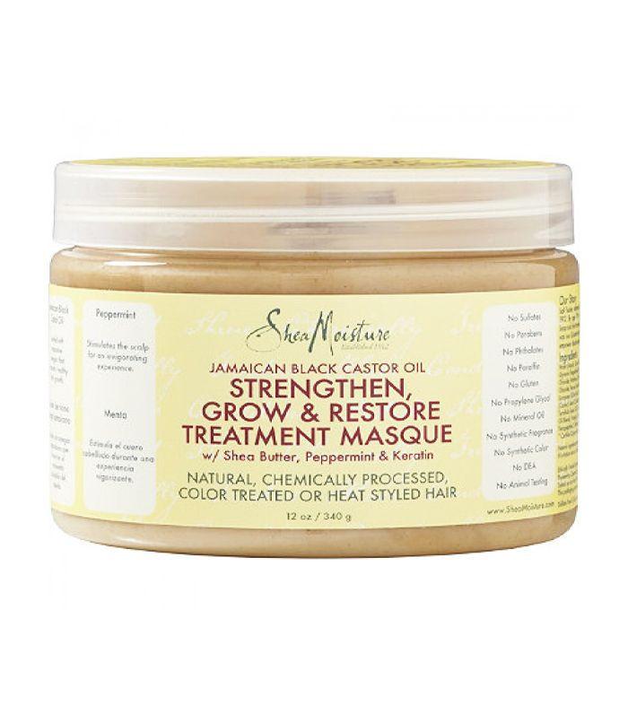 Shea Moisture Jamaican Black Castor Oil Strengthen and Restore Treatment Masque