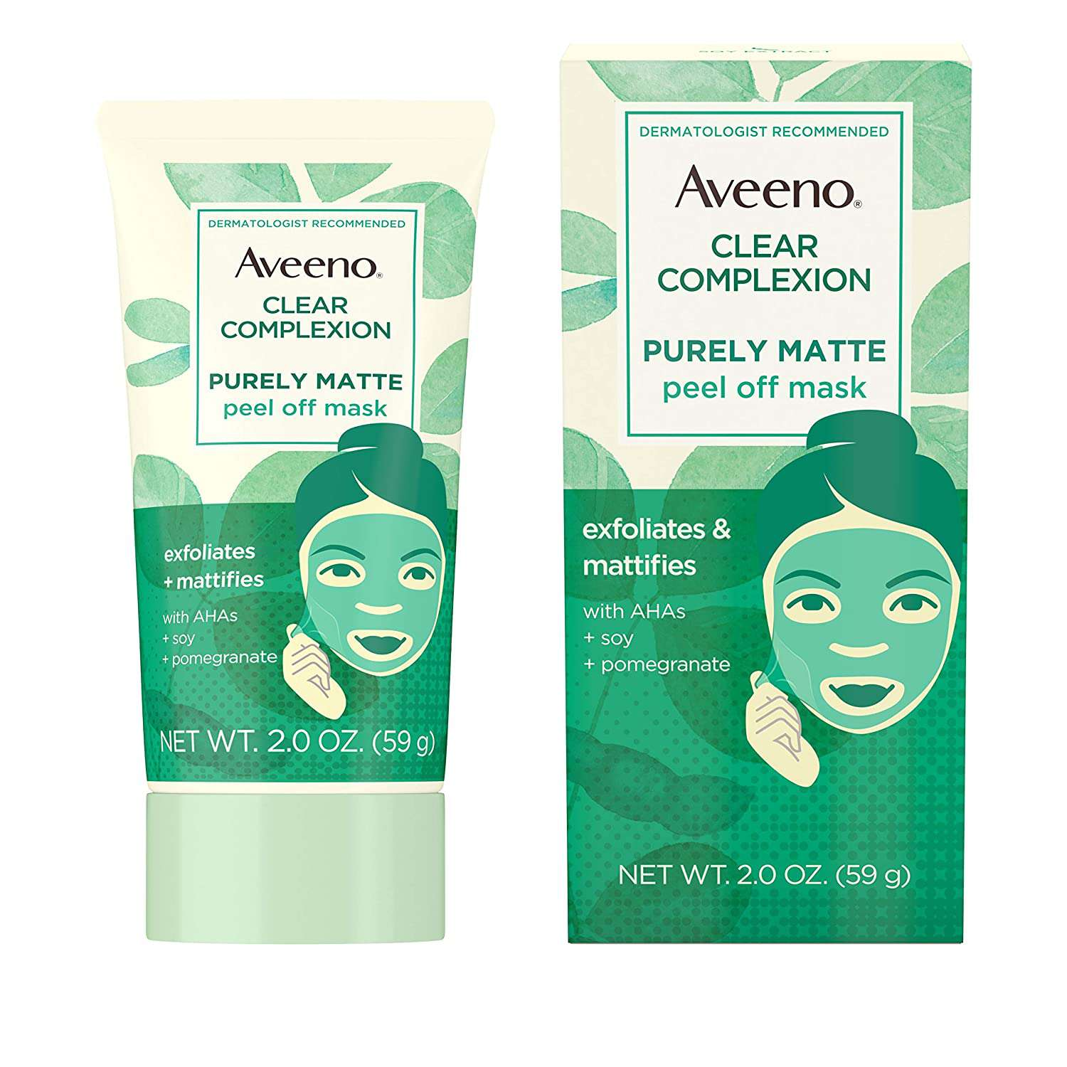 Aveeno Clear Complexion Purely Matte Peel Off Face Mask