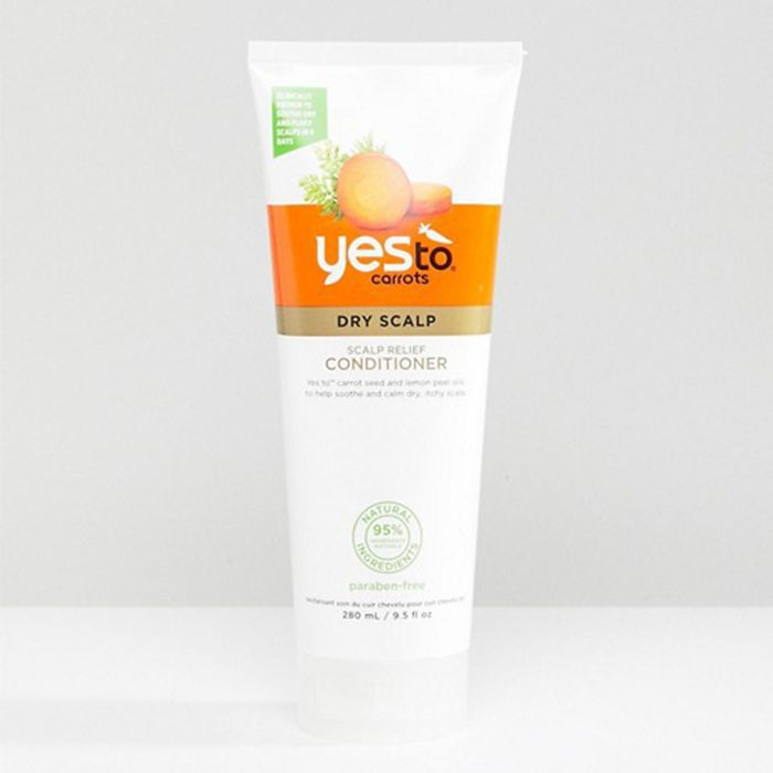 best eco-friendly beauty products: Yes To Carrots Scalp Relief Conditioner