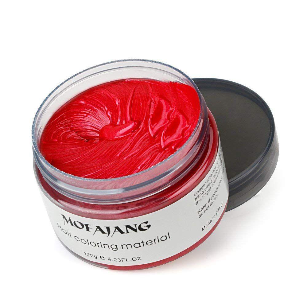 red hair wax