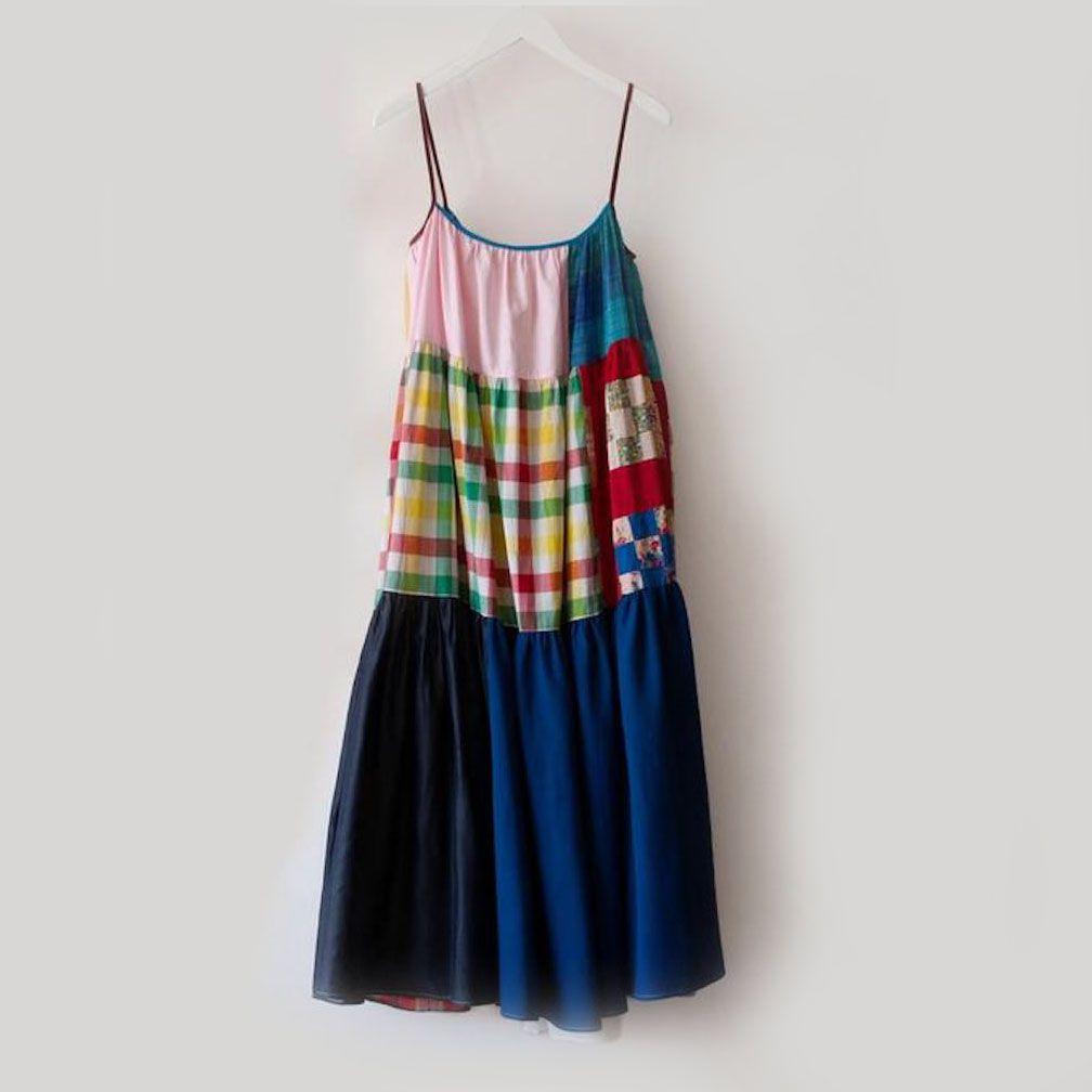 La Réunion Patchwork Dress