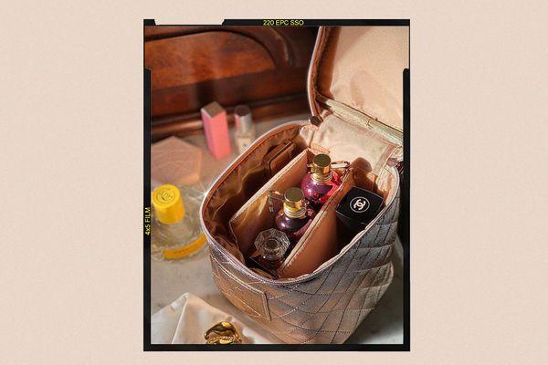 makeup bag of product