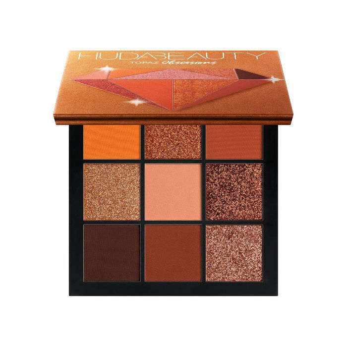 best eye shadow palette: Huda Beauty Topaz Obsessions Palette