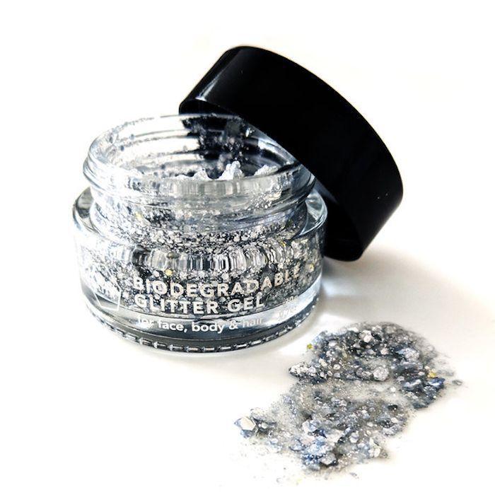 Projekt Glitter Silver Glitter Gel Pot
