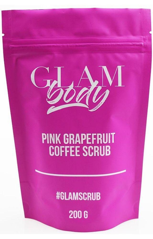 Glam Body Pink Grapefruit Coffee Scrub