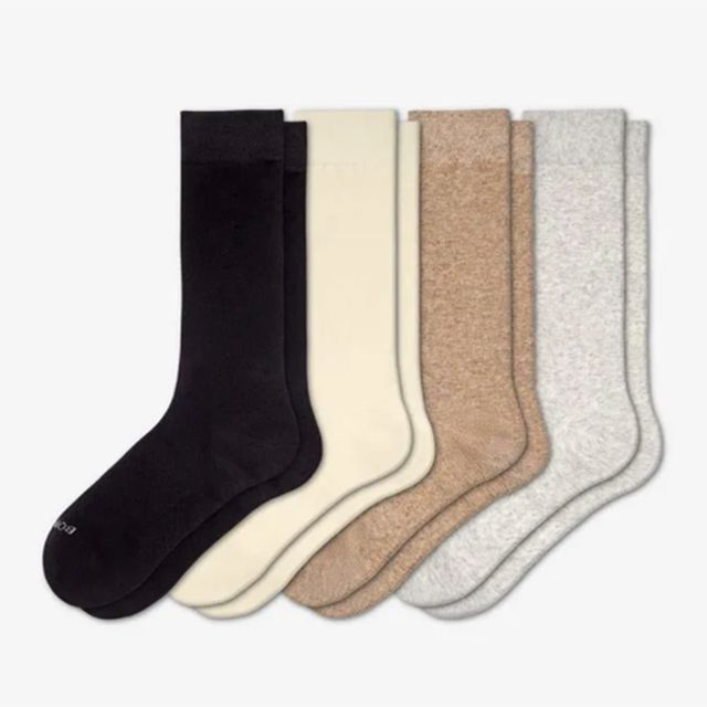 bombas four solid ankle socks