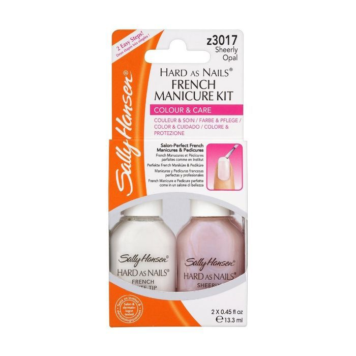 Sally Hansen Hard as Nails French Manicure Kit