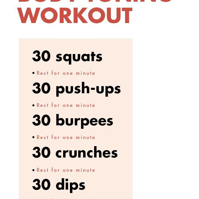 This 15-Minute Workout Will Tone Your Body in Just 3 Weeks