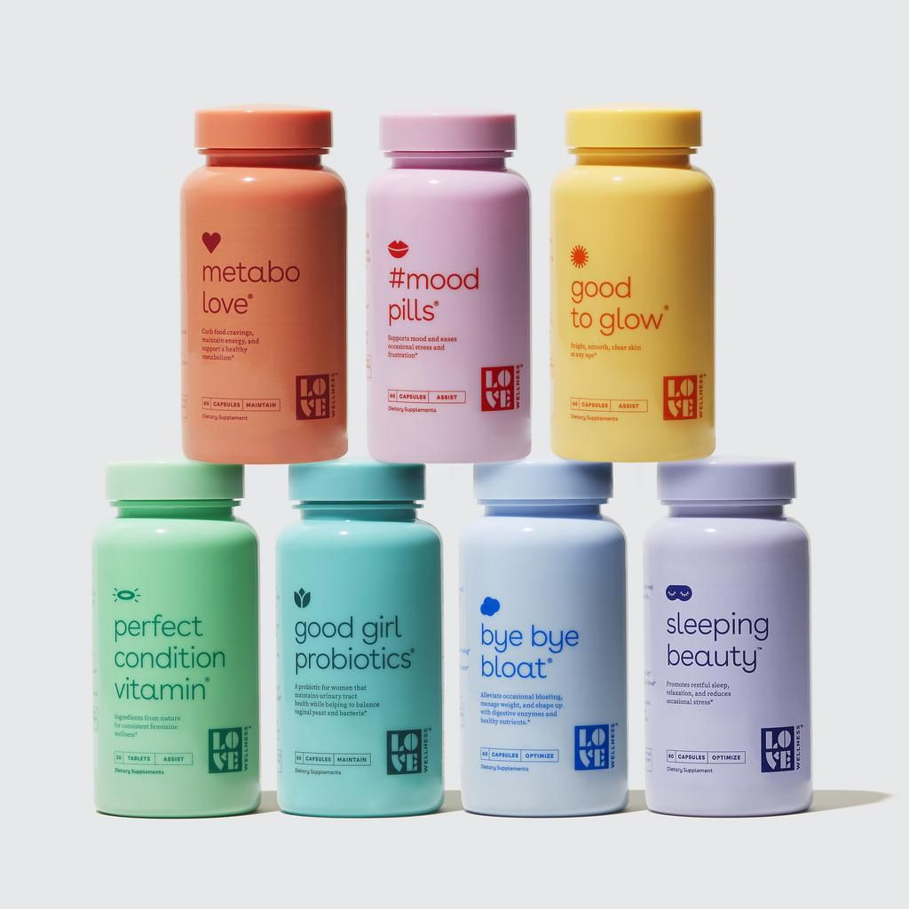Love Wellness collection of products