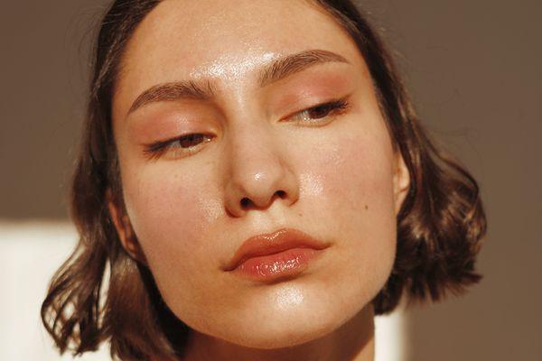 closeup sunny portrait