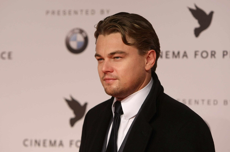 Leonardo DiCaprio Hair 2009