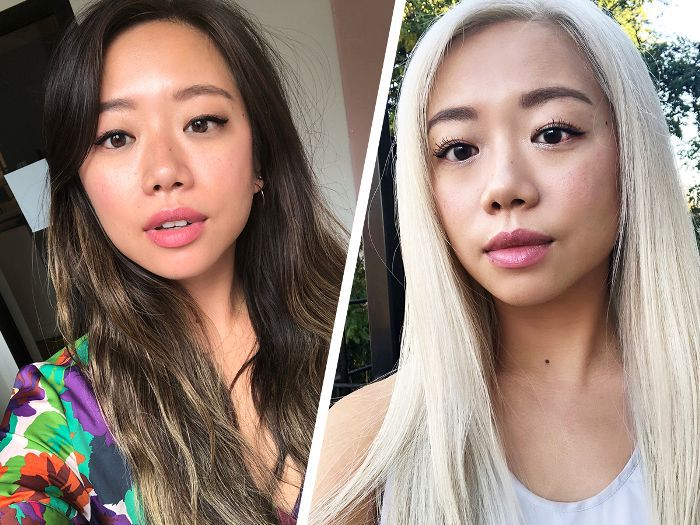 What It\'s Really Like to Dye Your Hair Platinum Blonde