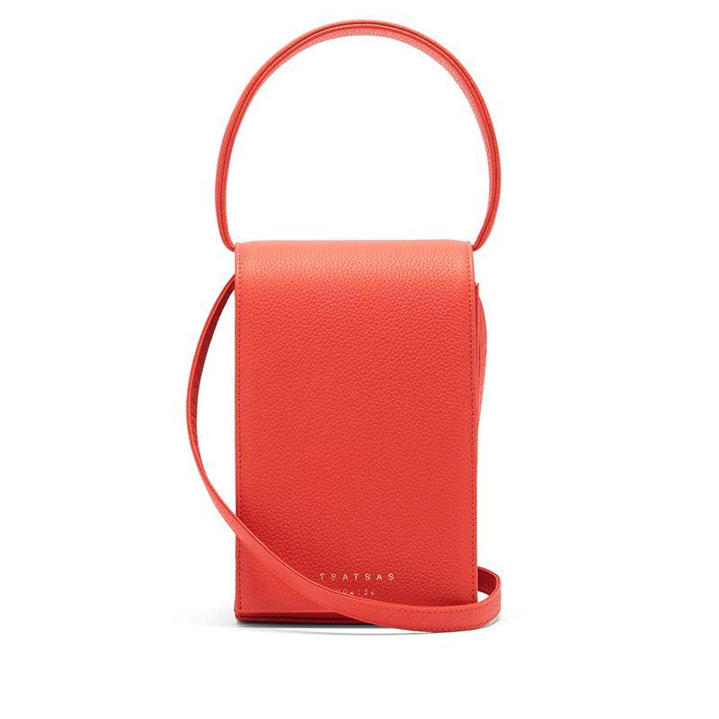 Malva 3 Grained-Leather Bag