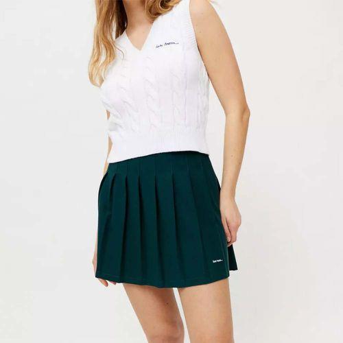 Pleated Tennis Mini Skirt ($49)