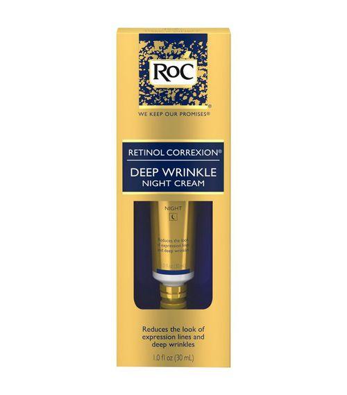RoC Retinol Correxion Deep Wrinkle Anti-Aging Night Face Cream Best Skincare at Target