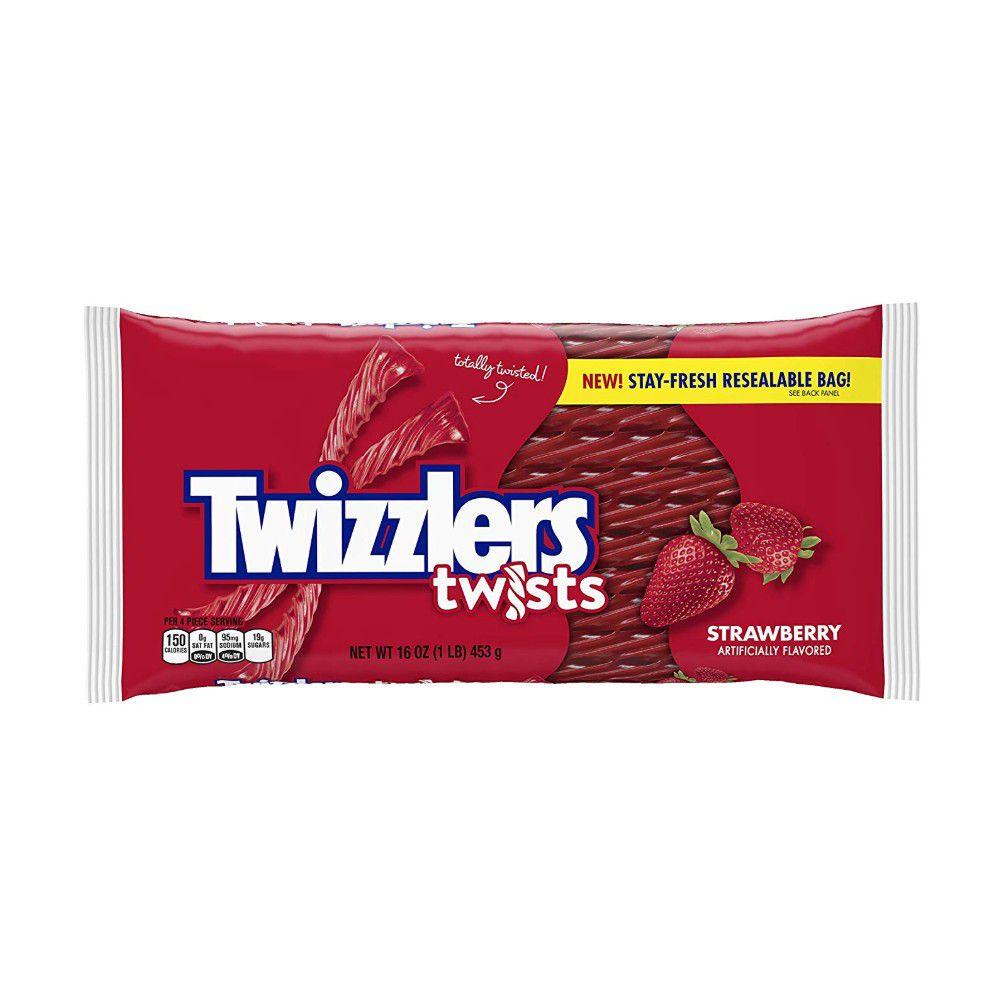 Strawberry Twizzler Twists