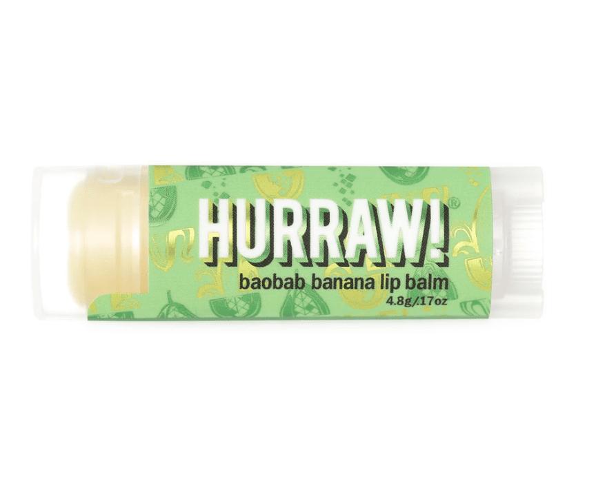 Hurraw! Baobab Banana Lip Balm