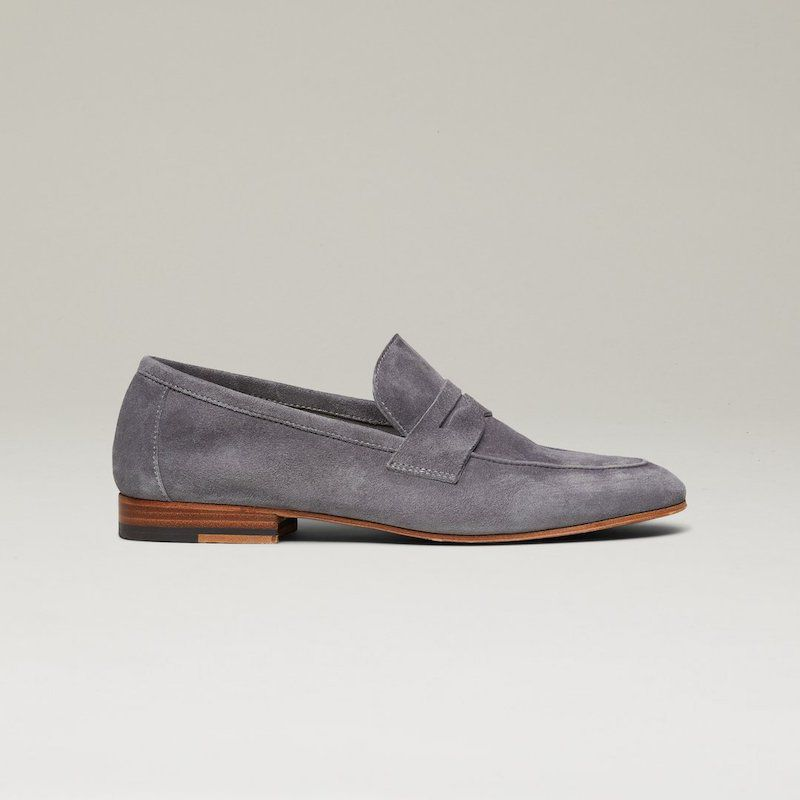 The Sacca Donna Suede Loafer