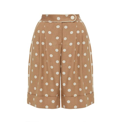 Polka Dot Bermuda Shorts ($585)