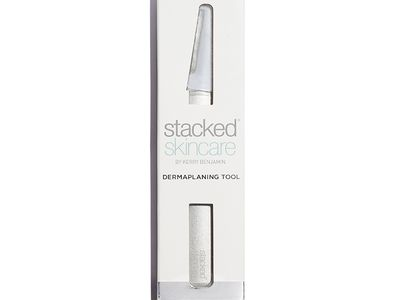 stacked skincare dermaplaning tool