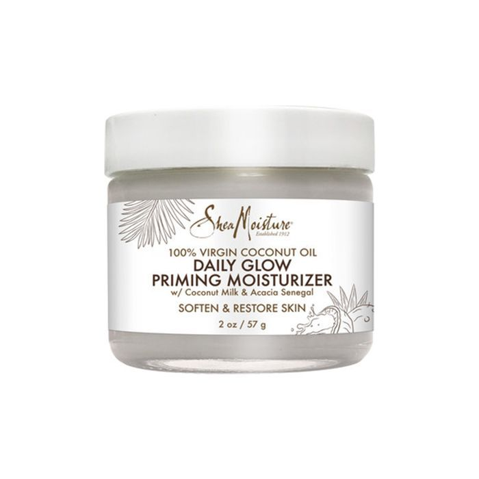 100% Virgin Coconut Oil Daily Hydration Glow Priming Moisturizer