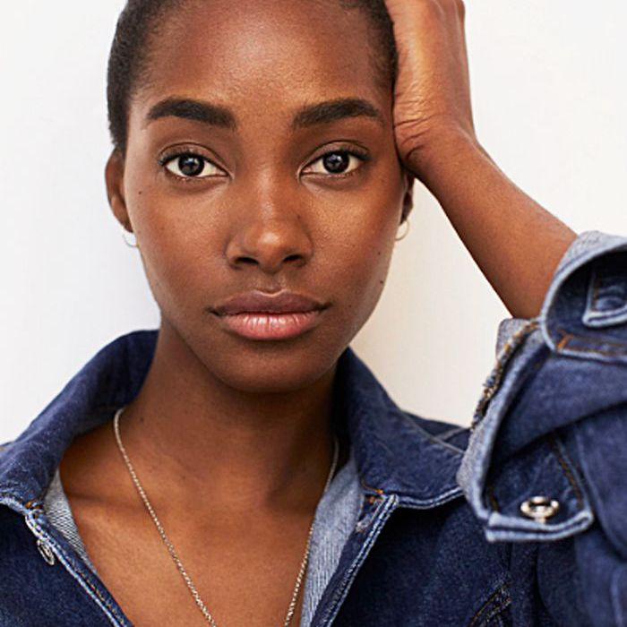 Model With Fresh Glowing Skin