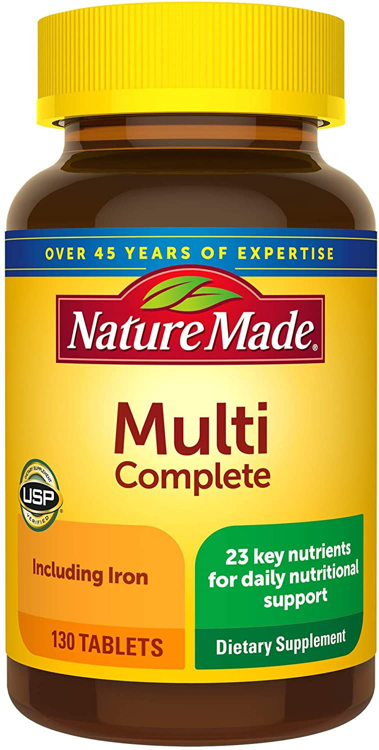 Nature Made Multi Complete Tablets