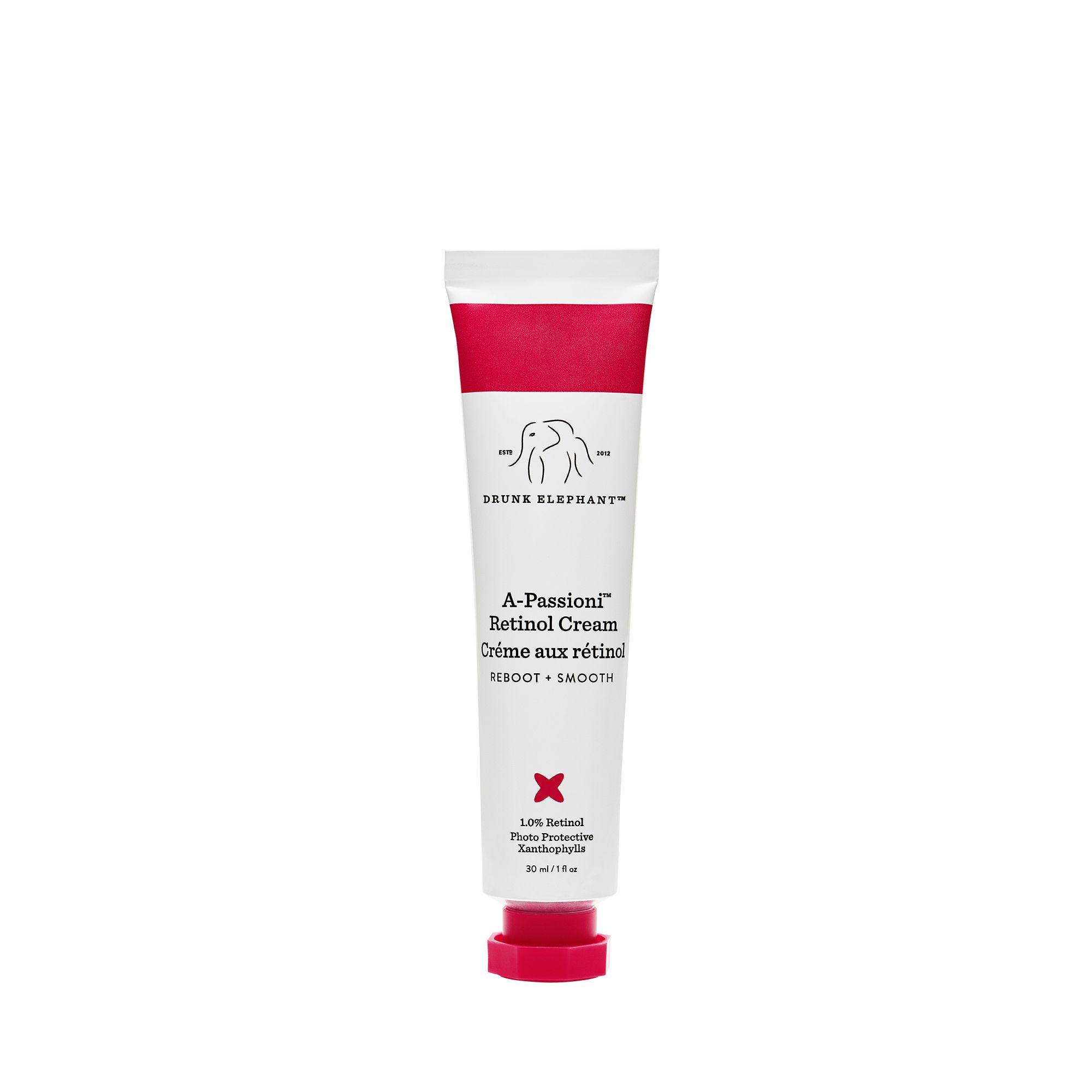 A-passioni retinol cream in a squeeze tube