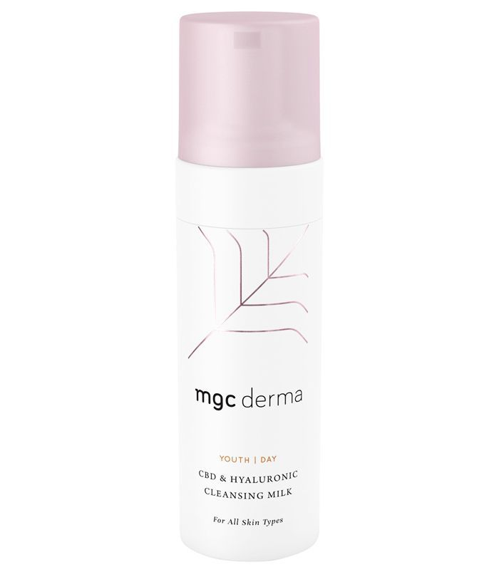 Best Cleanser for Dry Skin: MGC Derma CBD & Hyaluronic Cleansing Milk