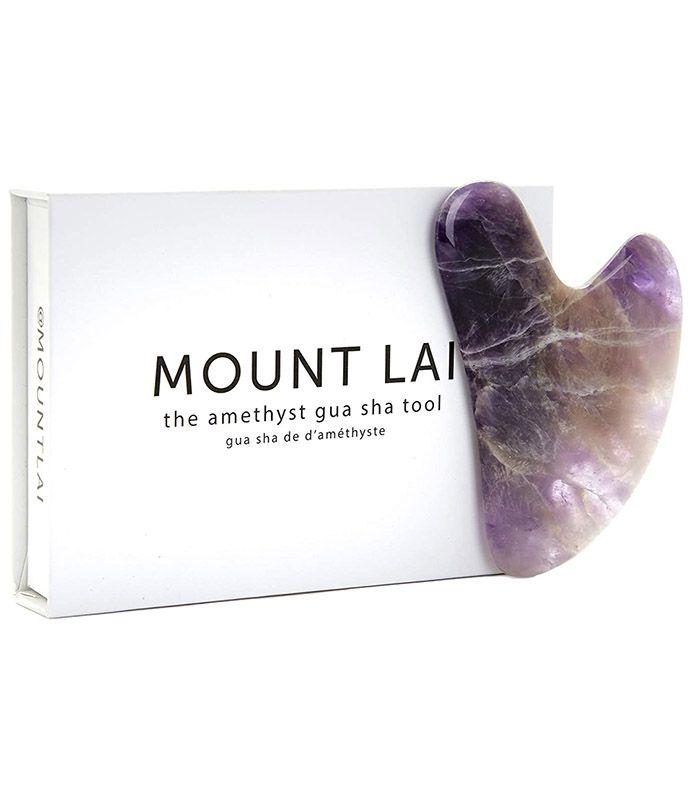 Mount Lai Amethyst Gua Sha Tool