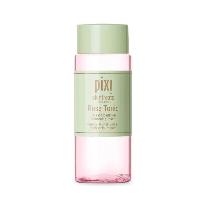 in-flight long-haul skincare routine: Pixi Rose Tonic