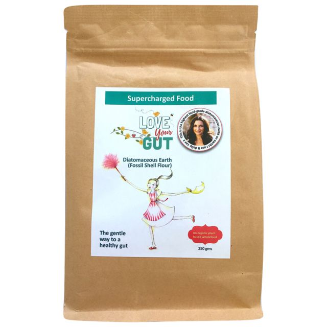 Brown bag of love your gut powder