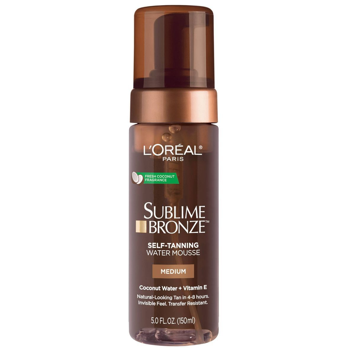 L'Oreal Paris Sublime Bronze Hydrating Self-Tanning Water Mousse