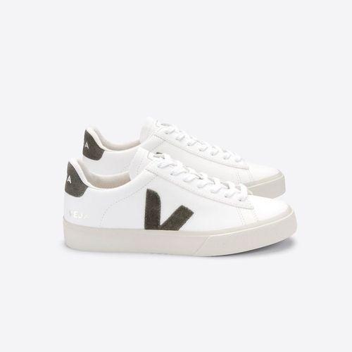 Campo Chromefree White Kaki Sneaker ($145)
