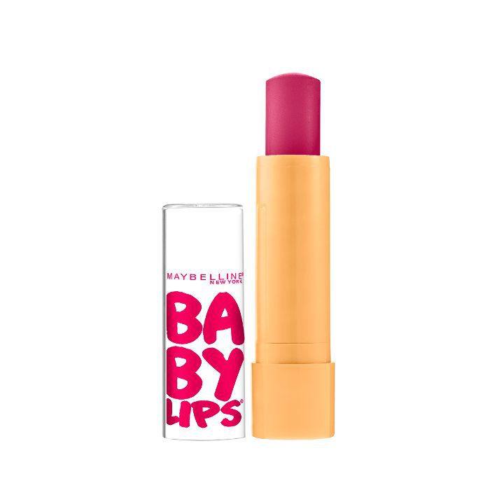 best drugstore beauty products: Maybelline New York Baby Lips Moisturizing Lip Balm