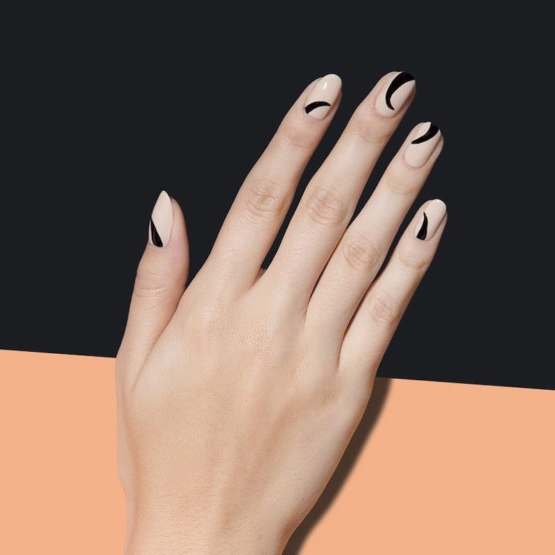 Simple Nail Designs Swoops