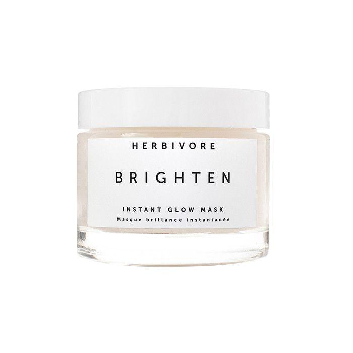 Herbivore Brighten Pineapple Enzyme Gemstone Instant Glow Mask - How to Get Glowy Skin
