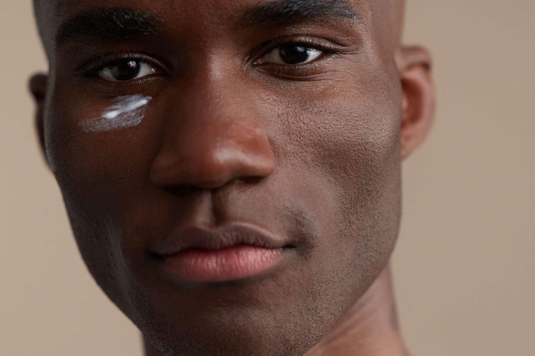 man eye cream