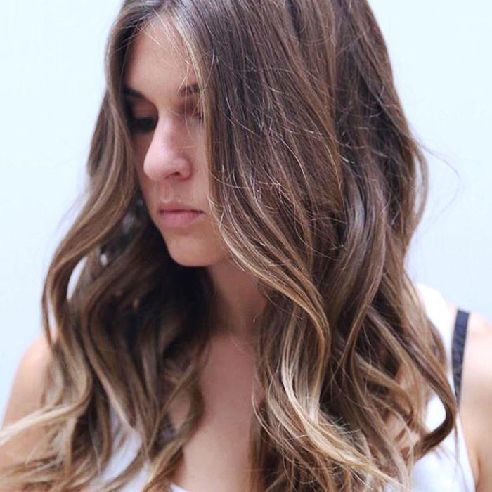 lowlights for brown hair: brown hair
