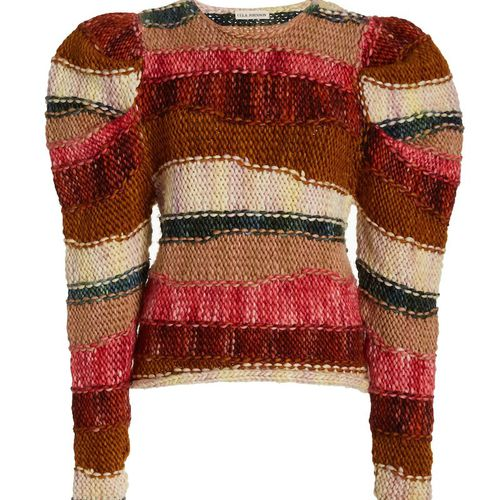 Ulla Johnson Violeta Striped Wool Sweater