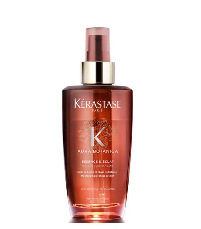 best eco-friendly hair products: Kérastase Aura Botanica Essence d'Eclat Hair Oil