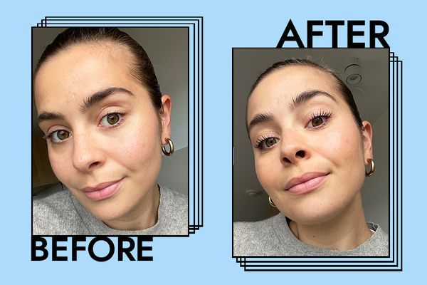 Benefit Bad Gal Bang Mascara Results on Emily Algar
