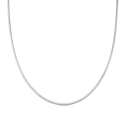 Missoma Lucy Williams Square Snake Chain Necklace